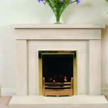 Bath Stone Fireplace 1