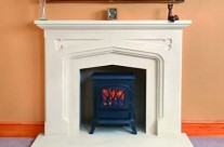 Bath Stone Fireplace 10