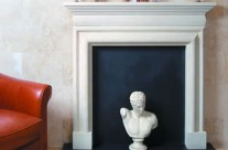 Bath Stone Fireplace 11