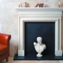 Bath Stone Fireplace 11