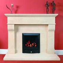 Bath Stone Fireplace 12
