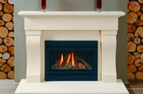 Bath Stone Fireplace 13
