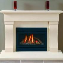 Bath Stone Fireplace 13