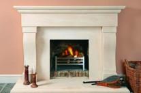 Bath Stone Fireplace 14