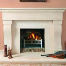 Bath Stone Fireplace 14
