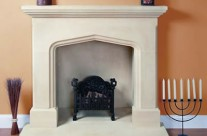 Bath Stone Fireplace 2