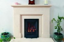 Bath Stone Fireplace 3