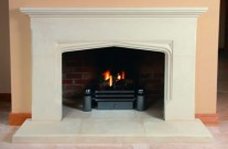 Bath Stone Fireplace 4
