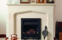 Bath Stone Fireplace 5