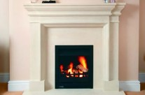 Bath Stone Fireplace 8