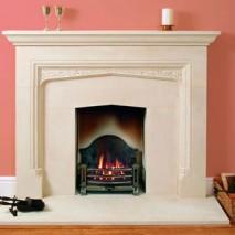 Bath Stone Fireplace 9